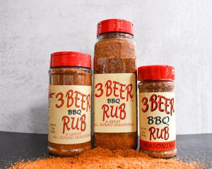 3 Beer BBQ Rub