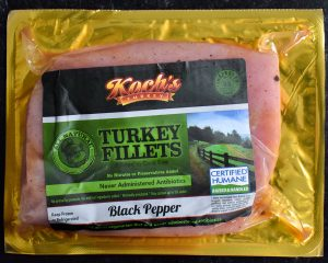Black Pepper Marinated Turkey Filets