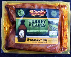 Brewhouse BBQ Marinated Turkey Filets