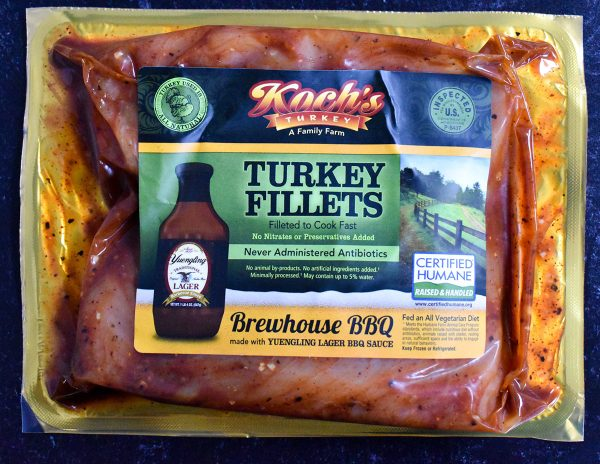 BBQ Turkey Fillets