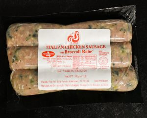 Broccoli Rabe Chicken Sausage