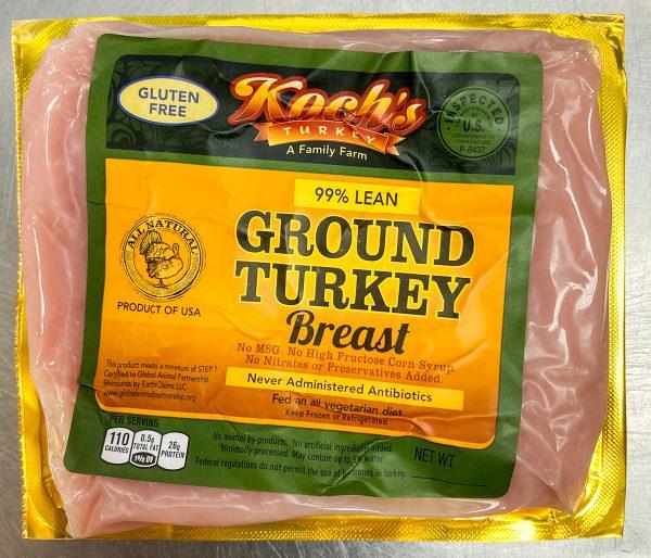 Ground Turkey Breast