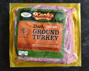 Ground Turkey Dark