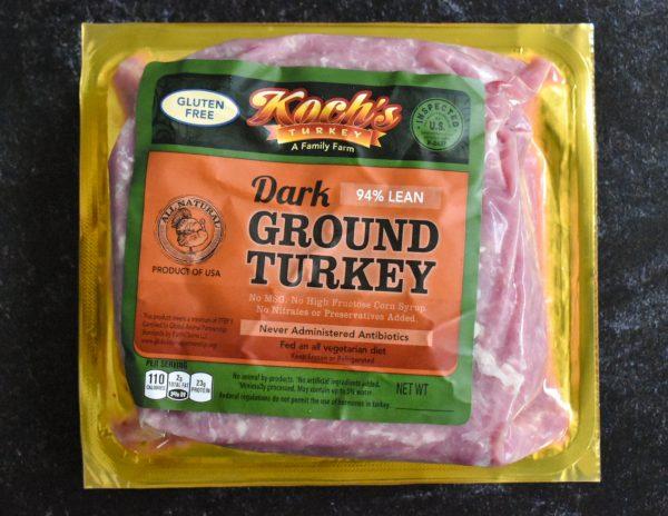 Ground Turkey Dark 1