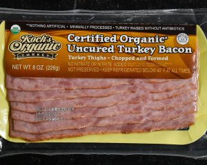 Koch's Organic Turkey Bacon