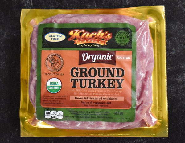 Organic Ground Turkey