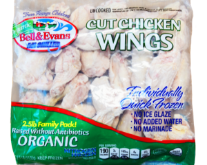 Organic IQF Cut Wings