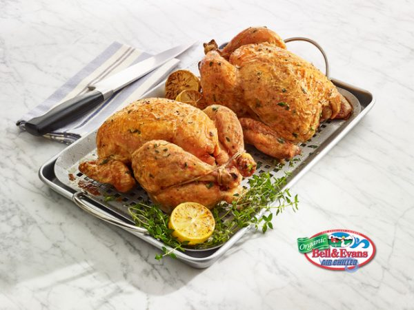 Organic Whole Broiler Chicken Cooked