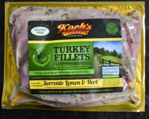 Sorrento Lemon & Herb Marinated Turkey Filets