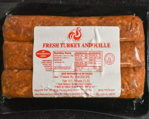 Andoulle Turkey Sausage