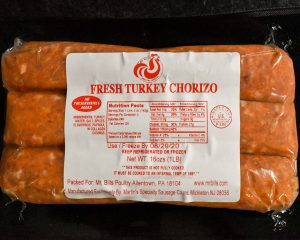 Chorizo Turkey Sausage