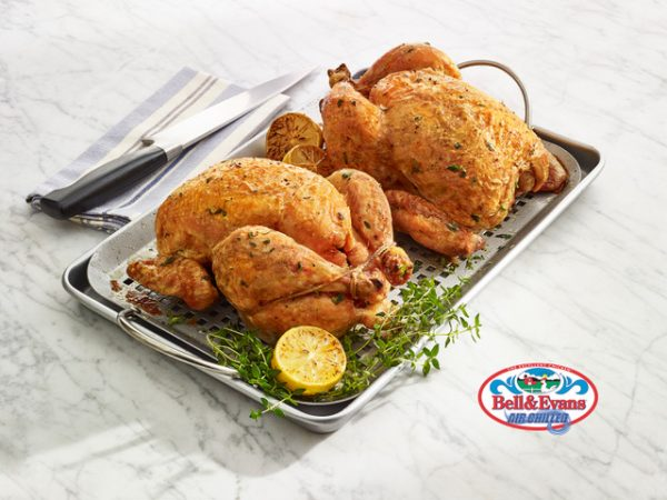 Cooked Whole Broiler Chicken