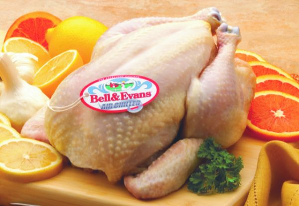 Raw Whole Broiler Chicken Unwrapped